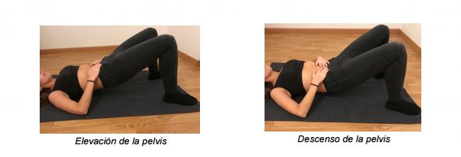 Ejercicio Abdominal 2: Elevación de la pelvis con respiración abdominal