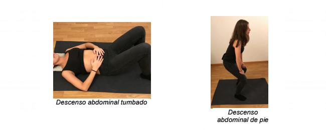 Ejercicio Abdominal 3: Ascenso y descenso abdominal
