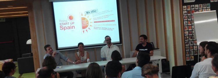 MOWOOT, en la presentación en Barcelona del programa de emprendimiento Rising Startup Spain