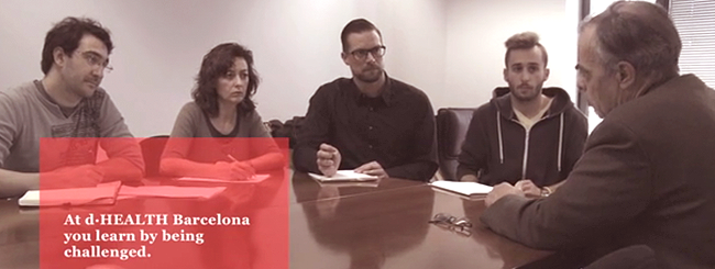 Fases invent e implement del programa dHEALTH BCN