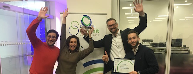 MOWOOT team EIT Health Catapult awards
