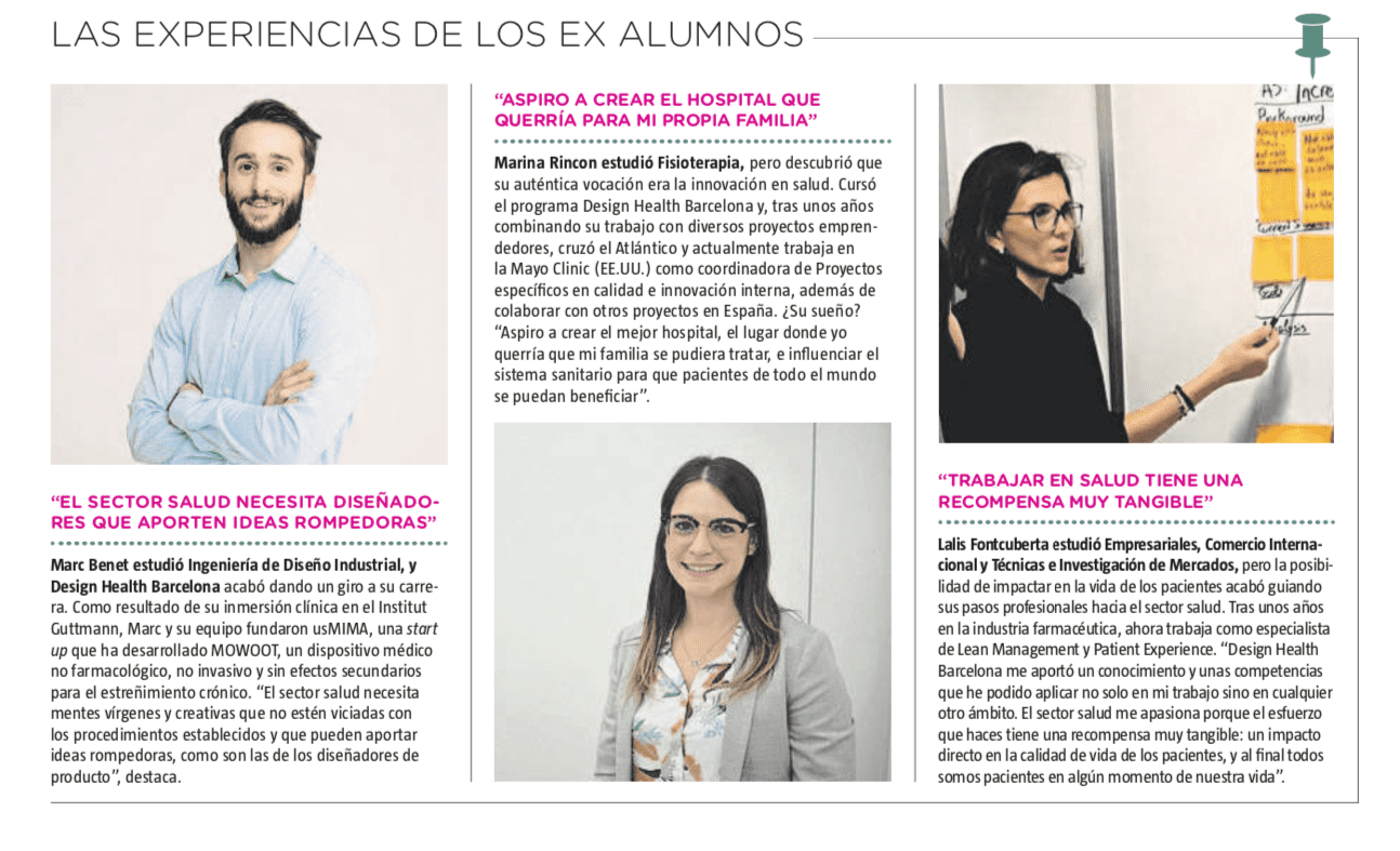 MOWOOT at La Vanguardia 'Saló de l'Ensenyament' monograph 'ALearn to innovate, innovating'.